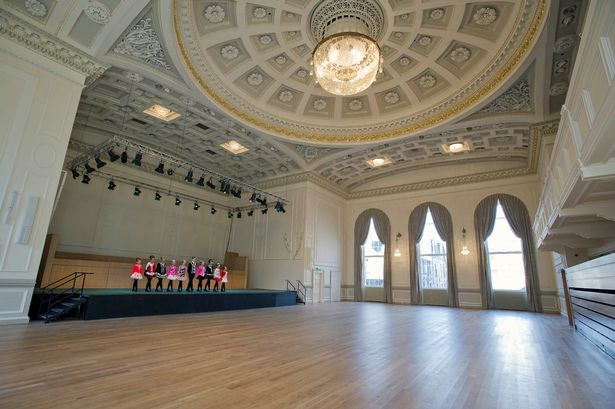 Assembly Rooms Edinburgh Audio Light Systems