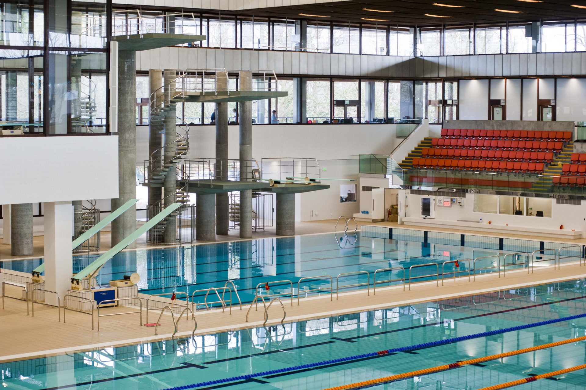 Royal Commonwealth Pool Edinburgh Audio Light Systems